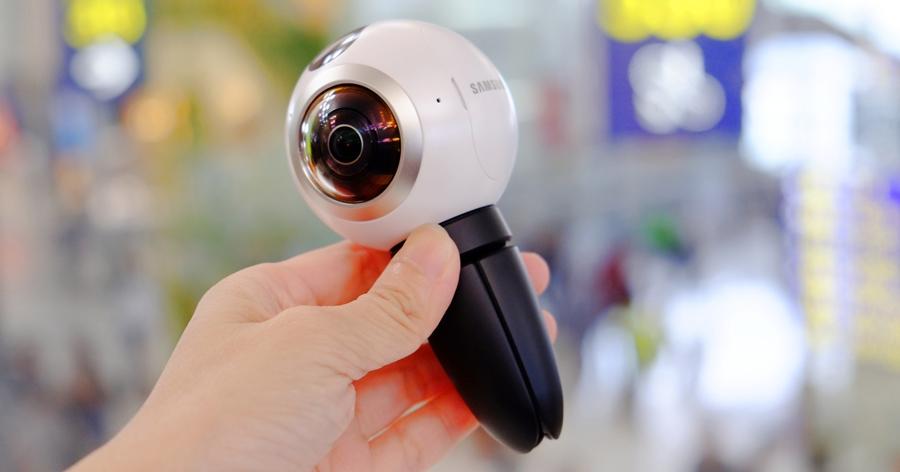 三星 Gear 360 環景相機動手玩,畫質出色、夜拍也沒問題