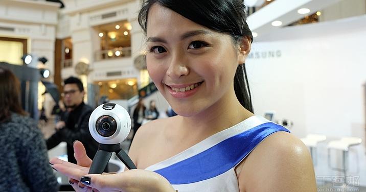 360 度照片隨你拍!三星發表 Gear 360 全景相機,售價 12,900 元