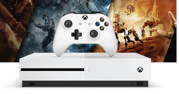 Xbox One S大反攻!微軟宣佈 Xbox One 銷量完勝PS4
