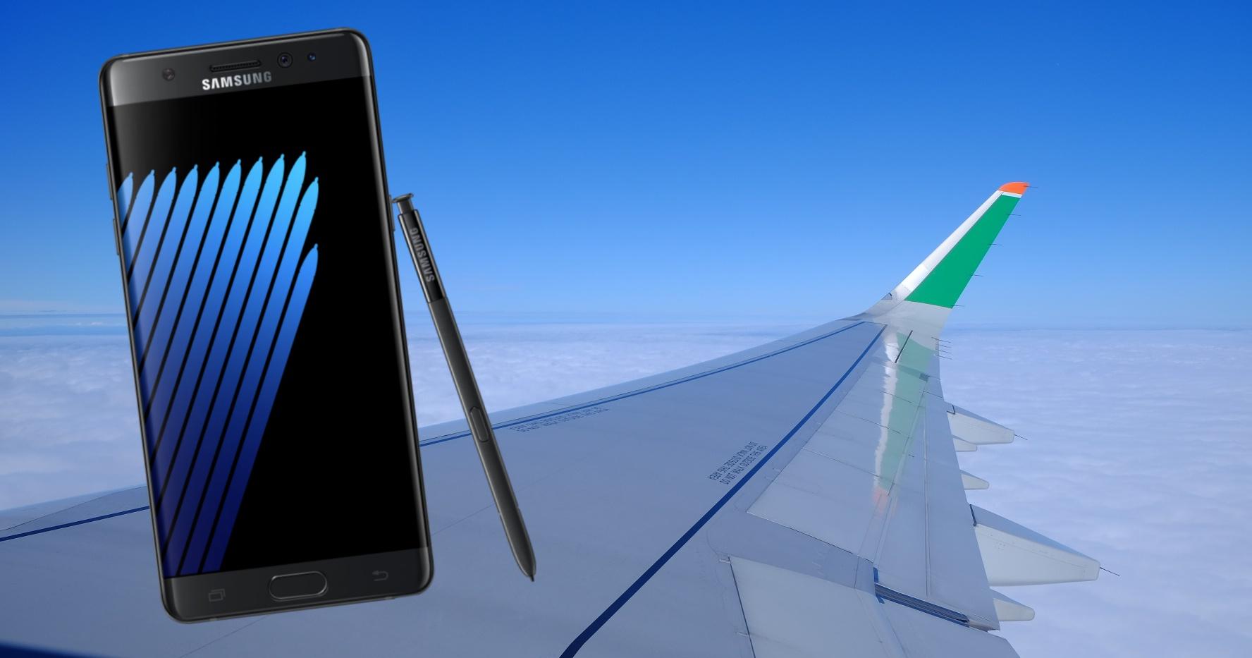 Note 7 禁上飛機帶不出國?台灣三星表示將在機場櫃臺提供備用手機供旅客出國替換
