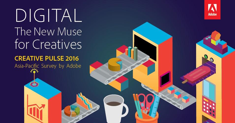 Adobe最新調查指出:行動化正急速改變創意和設計的工作模式