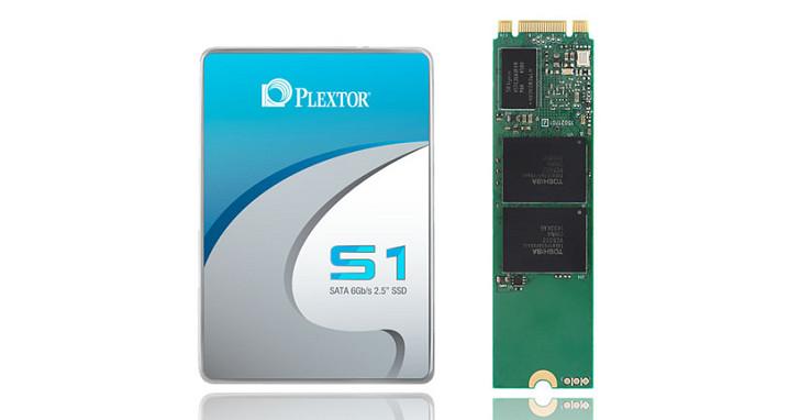 Plextor 推出 S1 系列固態硬碟,採用你所偏好的 MLC 顆粒