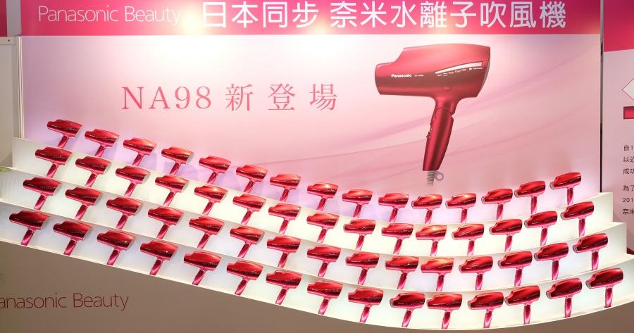 又一款吹風機神器!Panasonic 發表 NA98 奈米水離子吹風機,預計年底在台上市