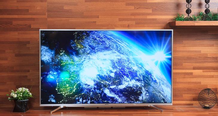 全球首款護眼 4K HDR 液晶電視 BenQ 55SY700,看見最豐富色彩,感受超細膩影像