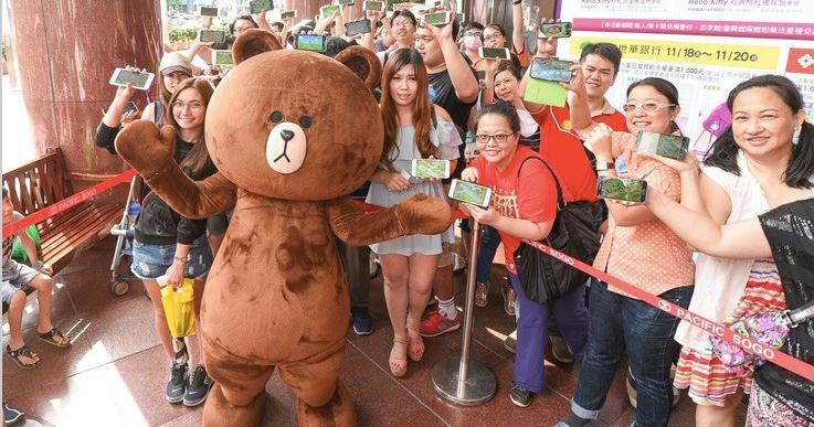 熊大粉絲實力驚人!《LINE 熊大農場》主角「熊大」首次見面會,超過500名粉絲擠爆現場