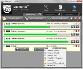 TubeMaster++:千萬首線上音樂邊聽邊抓