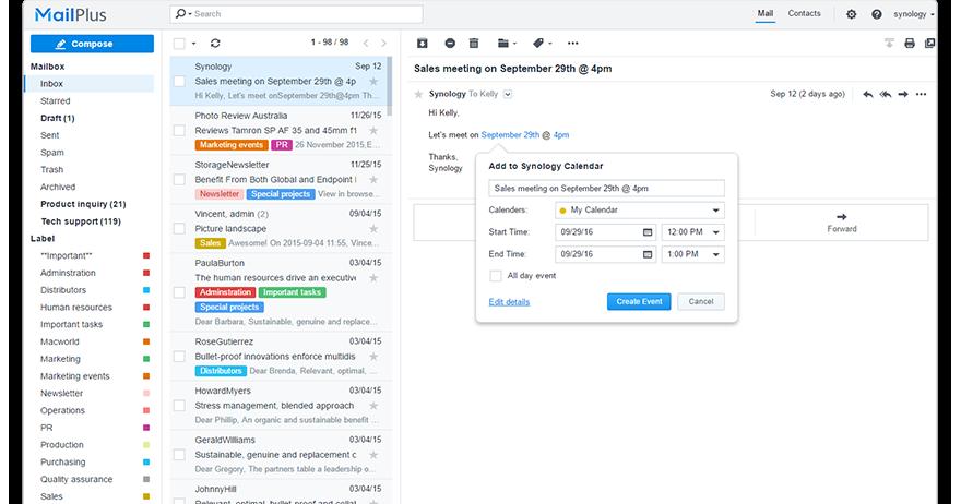 Synology 推出全新協同合作工具、雲端同步等八個套件的 beta 版本
