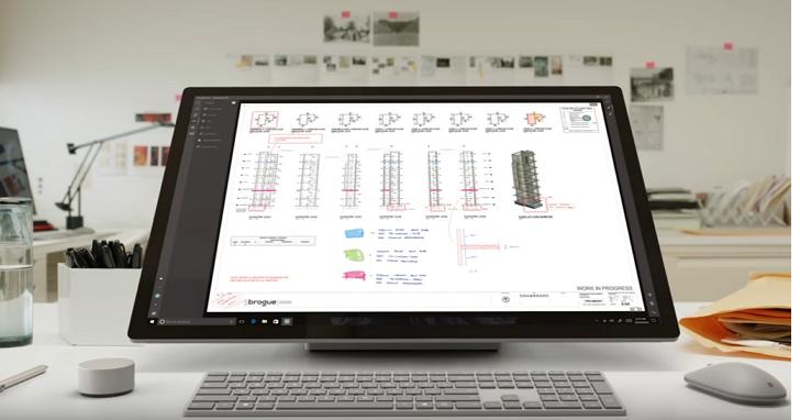 微軟發表Surface Studio,這將會是設計師夢想的一款 All-in-one PC