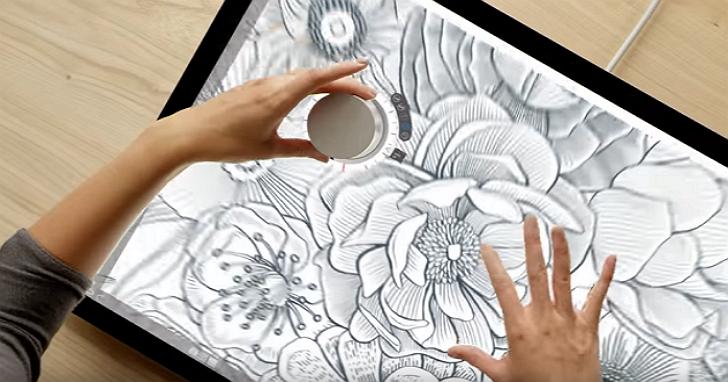 圓的比較好!微軟獨特的輸入裝置「Surface Dial」,讓你可以用實體圓盤來重新與軟體互動