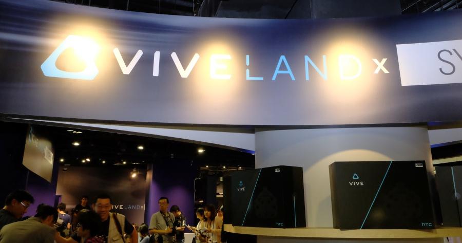 HTC VIVELAND 虛擬實境樂園 10/29 三創開幕!玩一次 150 元起
