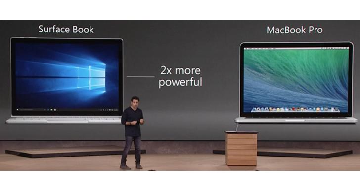 微軟要果粉改信仰,Macbook 舊換新可折扣購買 Surface Pro、 Surface Book