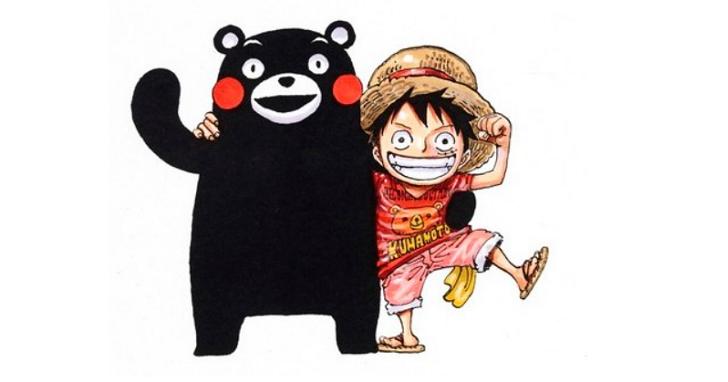 《One Piece》也來協助熊本大地震重建工作,宣佈熊本復興計劃!
