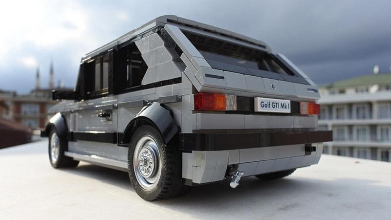 距離夢想最近的時刻,VW Golf GTI MK1 「Lego樂高版」量產集氣