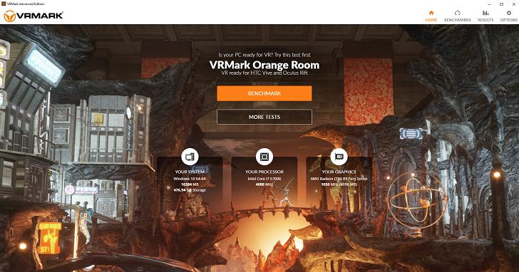 電腦是否為 VR 作好準備了?使用 VRMark 虛擬實境基準評測了解詳情