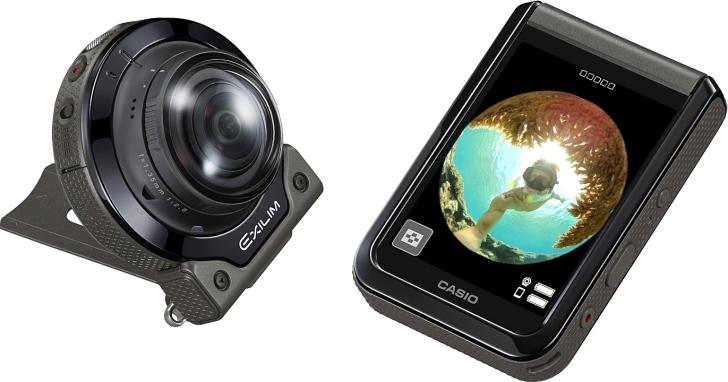 Casio 也終於擁有自己的 4K 全景相機 EX-FR200,但它只具備一顆鏡頭