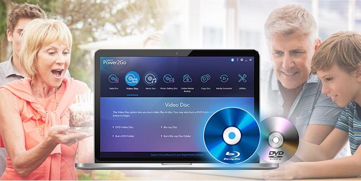 訊連科技推出新一代燒錄軟體:威力酷燒 11,可以製作藍光或AVCHD影片光碟