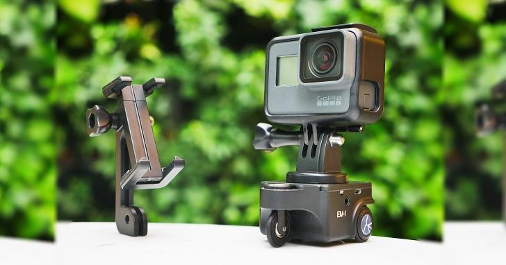 錄影運鏡的實用小工具:思銳 Sirui EM-1 微型攝影車實測