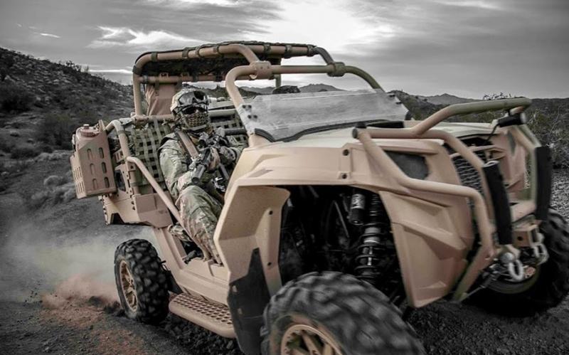 還是軍用的好,日本要拿美國特種作戰車來作救災用車