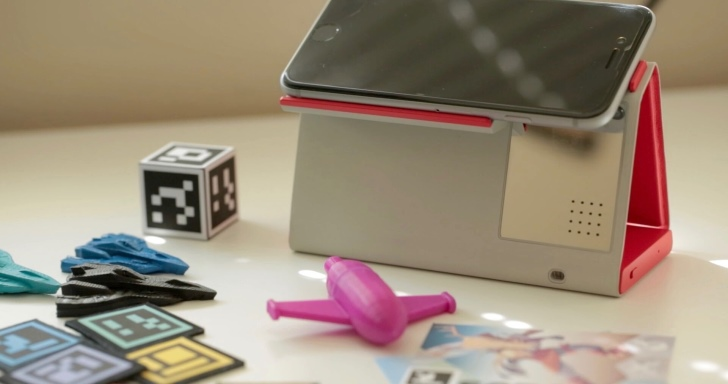 Oak擴增實境套件,將iPhone變成好玩的AR遊樂園