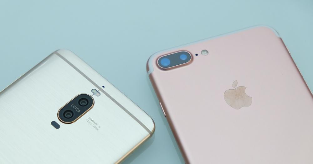 華為 Mate 9 Pro v.s Apple iPhone 7 Plus 雙鏡頭日拍、夜拍、2x 變焦比一比