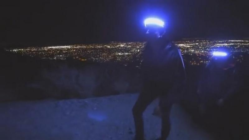 外星人專用?180度「無死角」照明頭燈