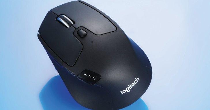 Logitech M720 Triathlon-可多方配對的多工滑鼠