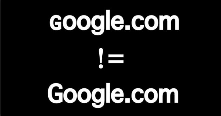 當心釣魚網站新手法!ɢoogle.com 不是 Google.com
