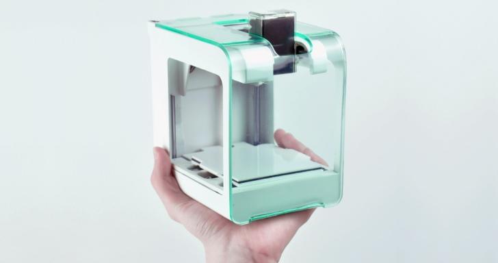 讓你「一手掌握」的迷你3D印表機PocketMaker