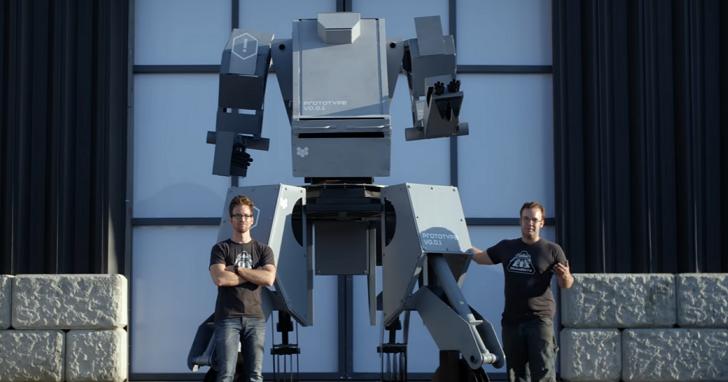 美日機器人大戰接近開戰日!美國MEGABOT釋出機甲戰士秘密武器影片