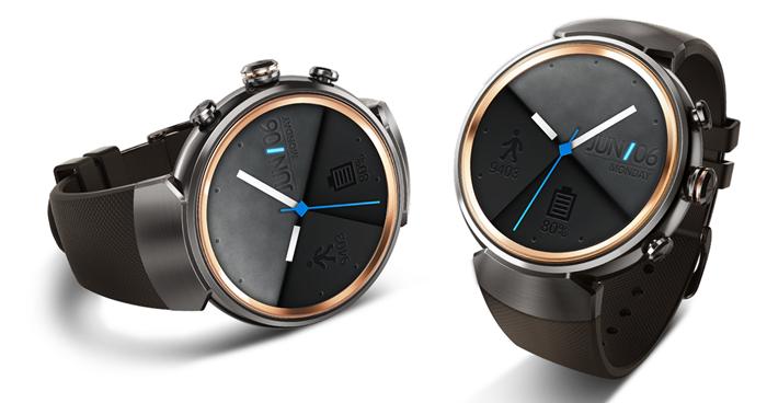 華碩 ZenWatch 3 圓形智慧錶 12/1 開賣,具快充功能、售價 7,990 元