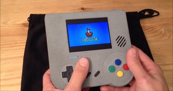 創客利用Raspberry Pi Zero,自製懷舊電玩Raspi Boy
