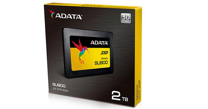 ADATA 推出 Ultimate SU900 固態硬碟,採用 3D MLC NAND、5 年保固