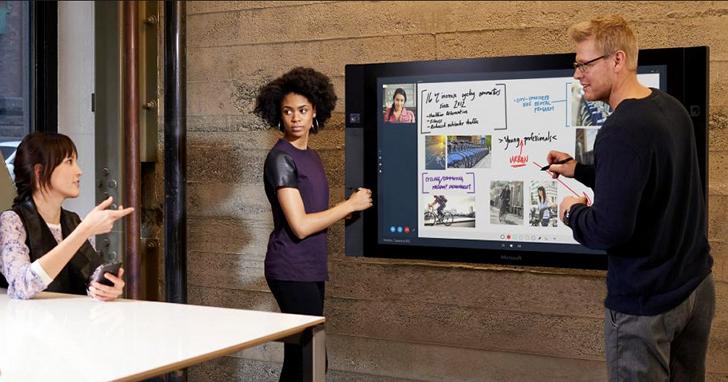 不知不覺中,微軟的大螢幕電腦 Surface Hub 將成為十億美元的大生意