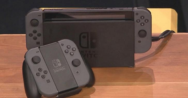 任天堂Switch螢幕規格曝光:支援2K解析度