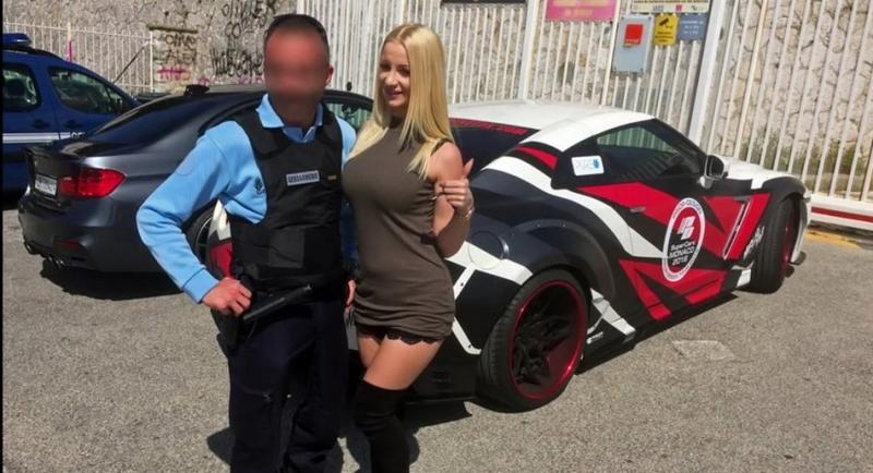 歐美AV女神與她的超猛東瀛戰神GT-R愛車,魅力無窮到外國警方都是她的粉絲!