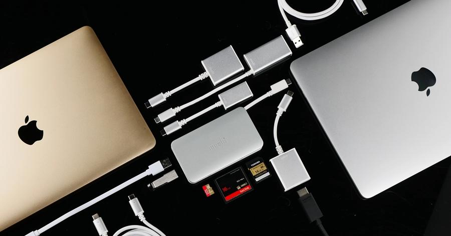 USB-C 裝置的最佳良伴!Moshi 推出全系列 USB-C to HDMI、VGA 轉接線、讀卡機