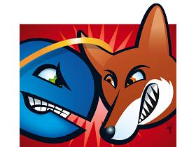 IE9、Firefox 4 前哨戰,Beta版市佔旗鼓相當