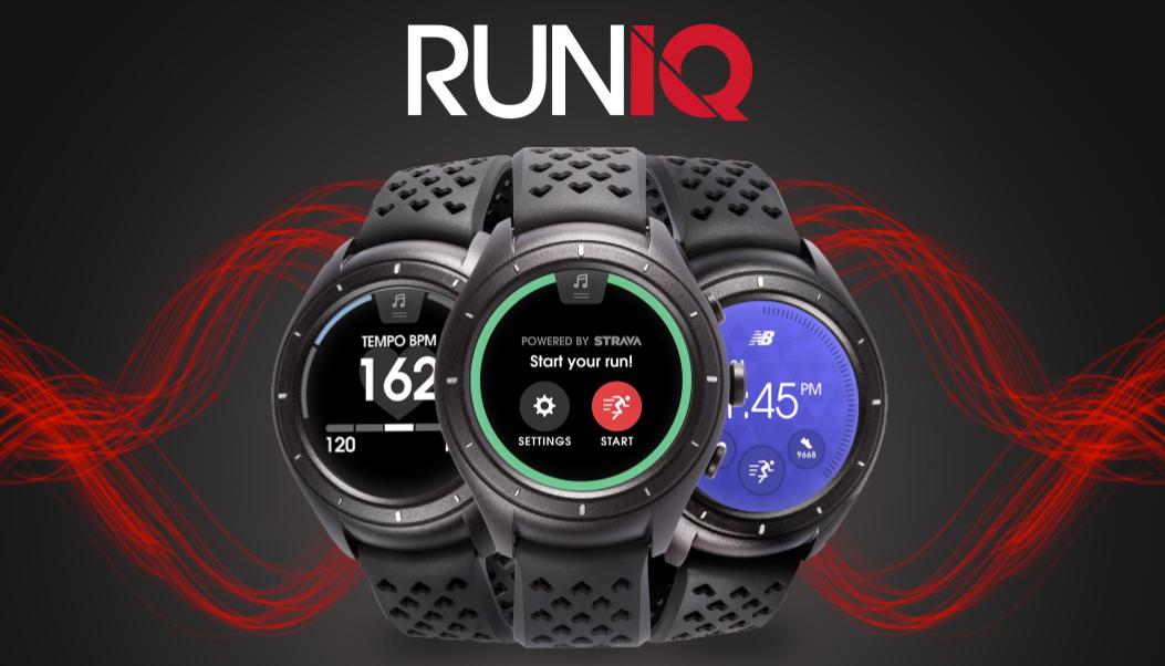 又一家運動鞋廠商挑戰智慧科技,New Balance 和 Intel 合作的智慧錶 RunIQ 正式登場