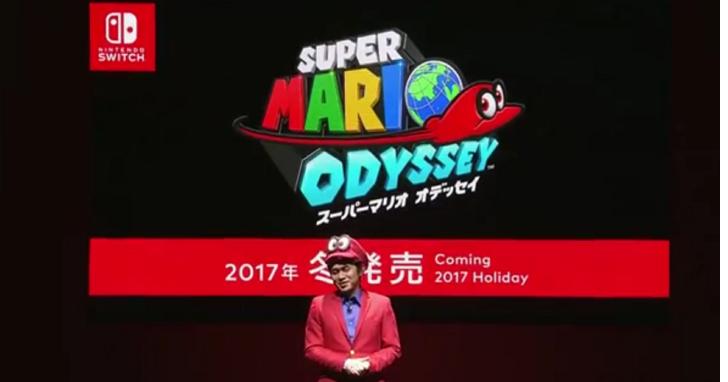 任天堂網路直播正式發佈 Switch :售價299 美元、3 月 3 日發售