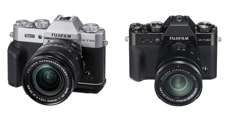 2400 萬畫素、4K 錄影與觸控螢幕,Fujifilm 發表 X-T20 中階無反相機