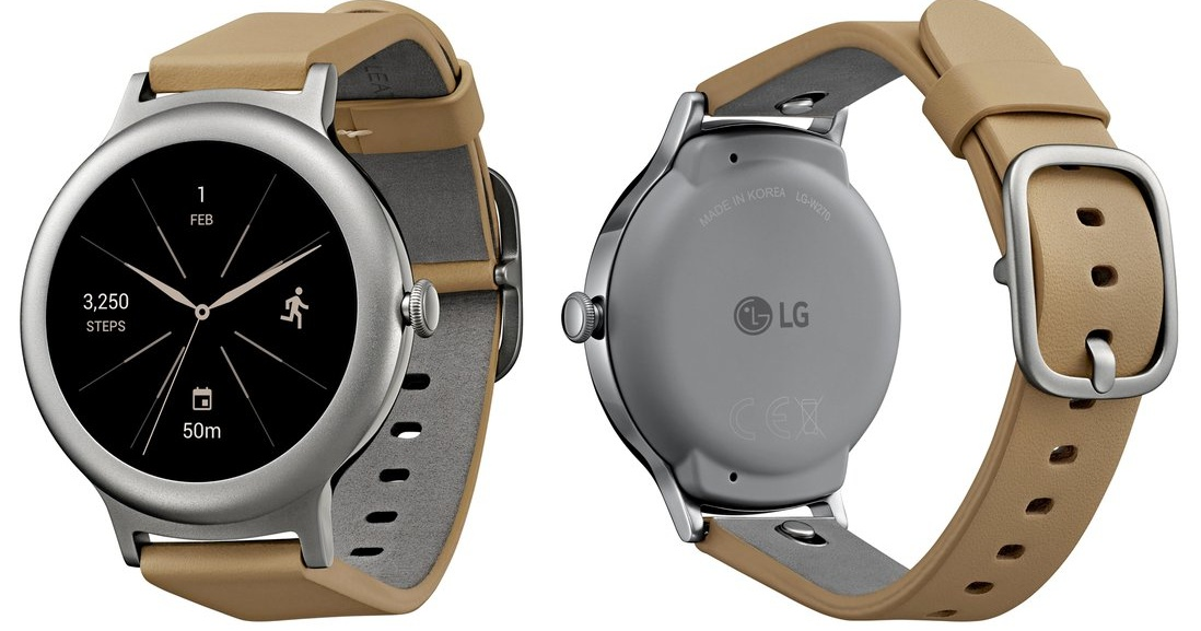 LG 新款 Watch Style 智慧錶曝光,傳搭載 Android Wear 2.0