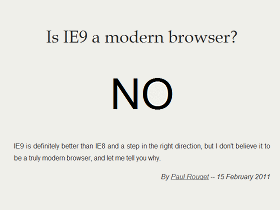 Mozilla:其實 IE9 沒有那麼先進