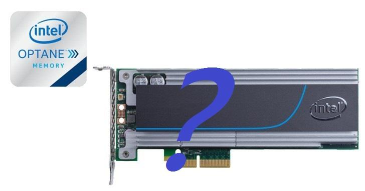 千倍快 3D XPoint 即將登場,Intel 準備推出 Optane SSD DC P4800X 固態硬碟