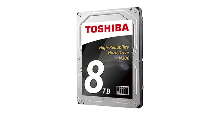 TOSHIBA強勢推出高效能8TB N300 NAS硬碟  搭載四大先銳技術  勢將震撼市場