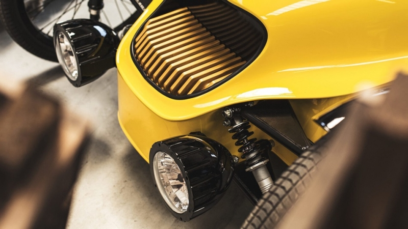 Morgan推出兒童版三輪電動車EV3 junior,每小時時速達16公里,兒童界的超跑霸主!