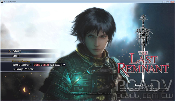 The Last Remnant Benchmark