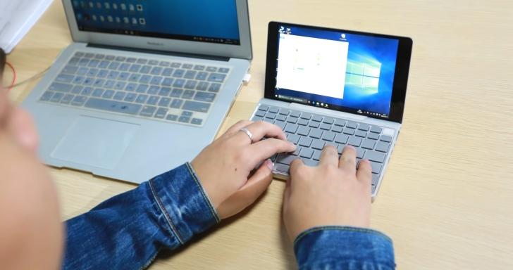 7吋螢幕超迷你筆電 GPD Pocket,僅重480公克還完整支援Windows與Ubuntu