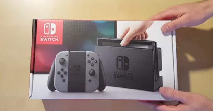 任天堂回應網路上提早兩週開箱的Switch影片:那是我們被偷的機器!
