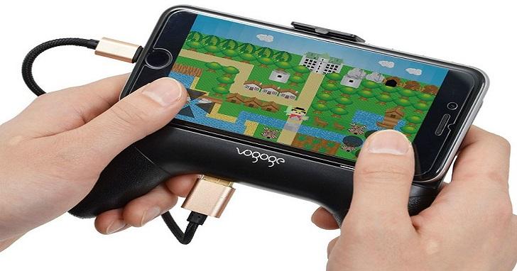 手機玩遊戲太燙,那就用風冷式遊戲手把來降溫吧!