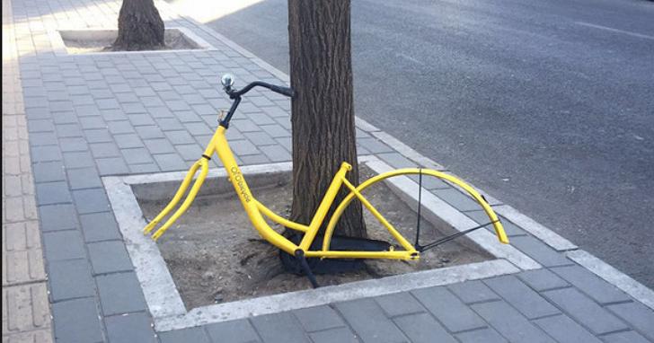 會不會太扯?中國新創共享單車廠商上線才20天,就因單車遺失率達七成無奈暫停服務
